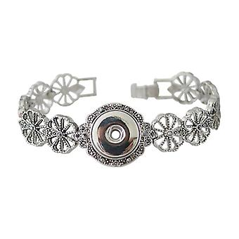 Stainless Steel Bracelet For Click Buttons Kb0169