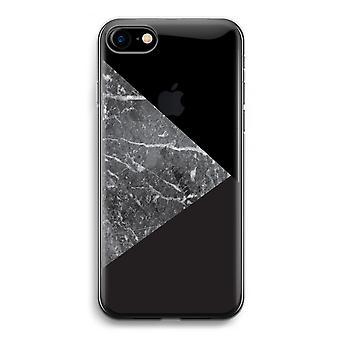 iPhone 7 transparentes Gehäuse (Soft) - Marmor-Kombination