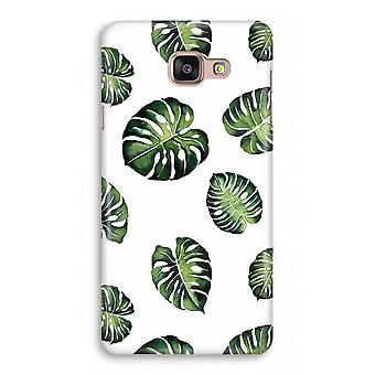 Samsung Galaxy A5 2017 Full Print Case - Tropical leaves