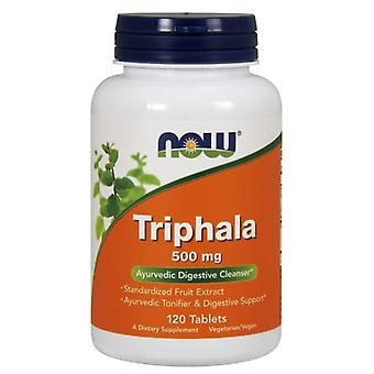 Now Foods Triphala 500Mg 120 Tablets (Sport , Athlete's health , Digestive health)