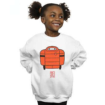 Disney Girls Big Hero 6 Baymax Suit Sweatshirt