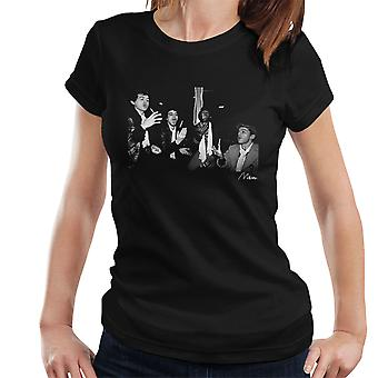 Ian Dury And The Blockheads Throwing Cigarettes Women's T-Shirt