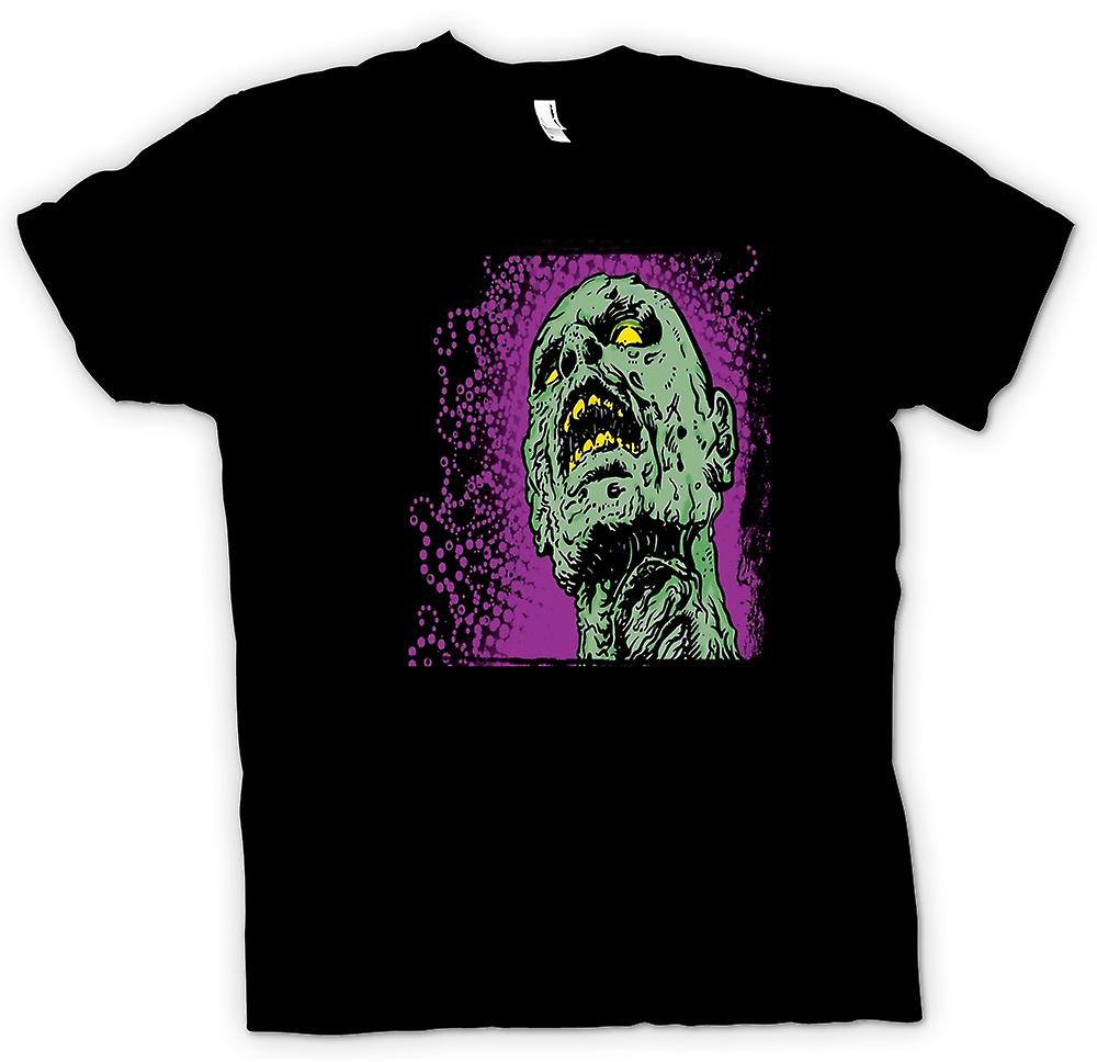 Kinder T-shirt - Pop Art - Zombie-Kopf - Cool