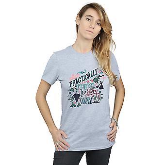 Disney kobiety Mary Poppins praktycznie chłopaka pasuje Koszulka