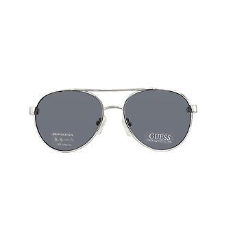 Guess sunglasses GU0122T-SI-51 SILVER WHITE