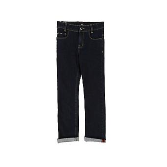 Hugo Boss Boys Hugo Boss Boys Dark Wash Slim Fit Jean