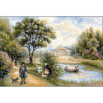 Walk In The Park Counted Cross Stitch Kit-15