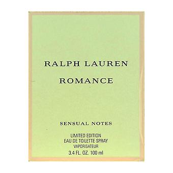 Ralph Lauren Romance Sensual Notes Eau De Toilette Spray 3.4Oz/100ml New In Box