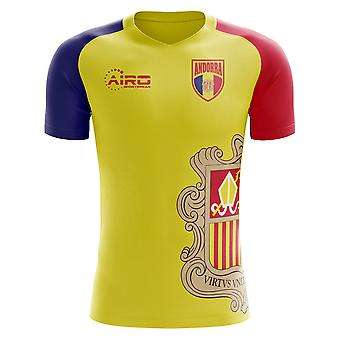 2018-2019 أندورا مفهوم الوطن لكرة القدم قميص (الأطفال)