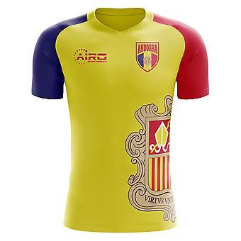2018-2019 Andorra Home Concept Football Shirt (Kids)