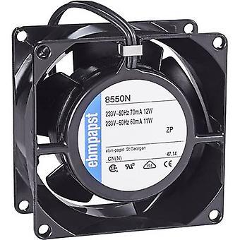 EBM パプスト 8550 N 軸ファン 230 V AC 50 m ³/h (L x 幅 x 高さ) 80 × 80 × 38 mm
