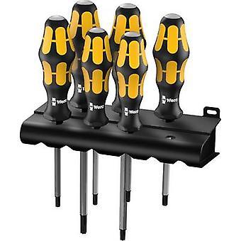 Workshop Screwdriver set 6-piece Wera 977/6 TORX® TORX socket