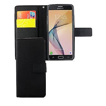 Mobiele telefoon geval zakje voor mobiele Samsung Galaxy J5 Prime black
