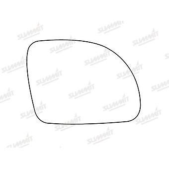 Right Stick-On Mirror Glass for Volkswagen BEETLE 1998-2002