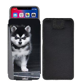 Husky Custom entworfen gedruckt ziehen Tab Tasche Telefon Fall decken für Nokia 6 (2018) [S] - hky13_web