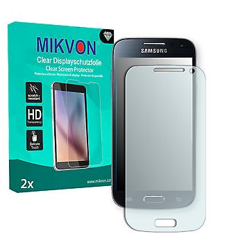 Samsung I9197X Galaxy S4 mini LTE Screen Protector - Mikvon Clear (Retail Package with accessories)