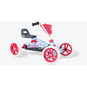 BERG Buzzy Bloom Pedal Go Kart Pink and Blue