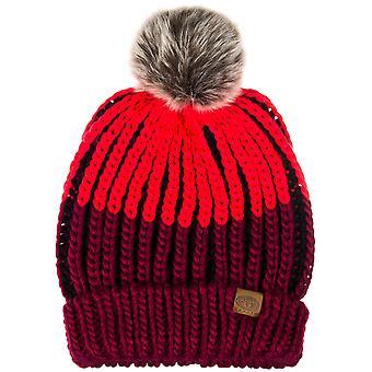 Zwierzęta Avoraa damskie zimowe warkoczowym dziana Czapka Bobble - jeden rozmiar