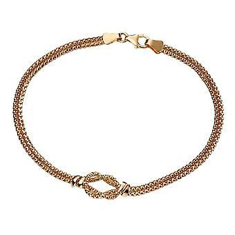 Elements Gold Rope Knot Bracelet - Gold