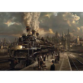 Schmidt Locomotive Jigsaw Puzzle (1000 Pieces)
