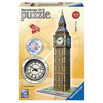 Ravensburger 3D puzzel Big Ben+KLOK 216