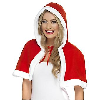 Smiffy's Miss Claus Mini Cape