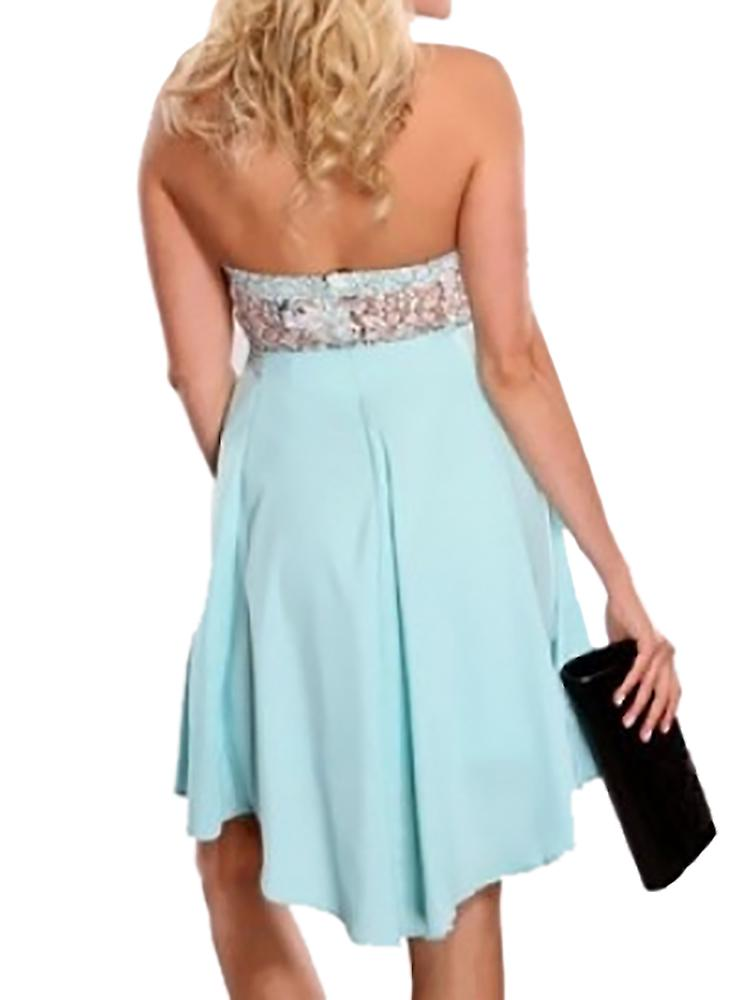 Waooh - Evening Strapless Ivoy