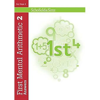 First Mental Arithmetic Answer Book 2 by Ann Montague-Smith - 9780721