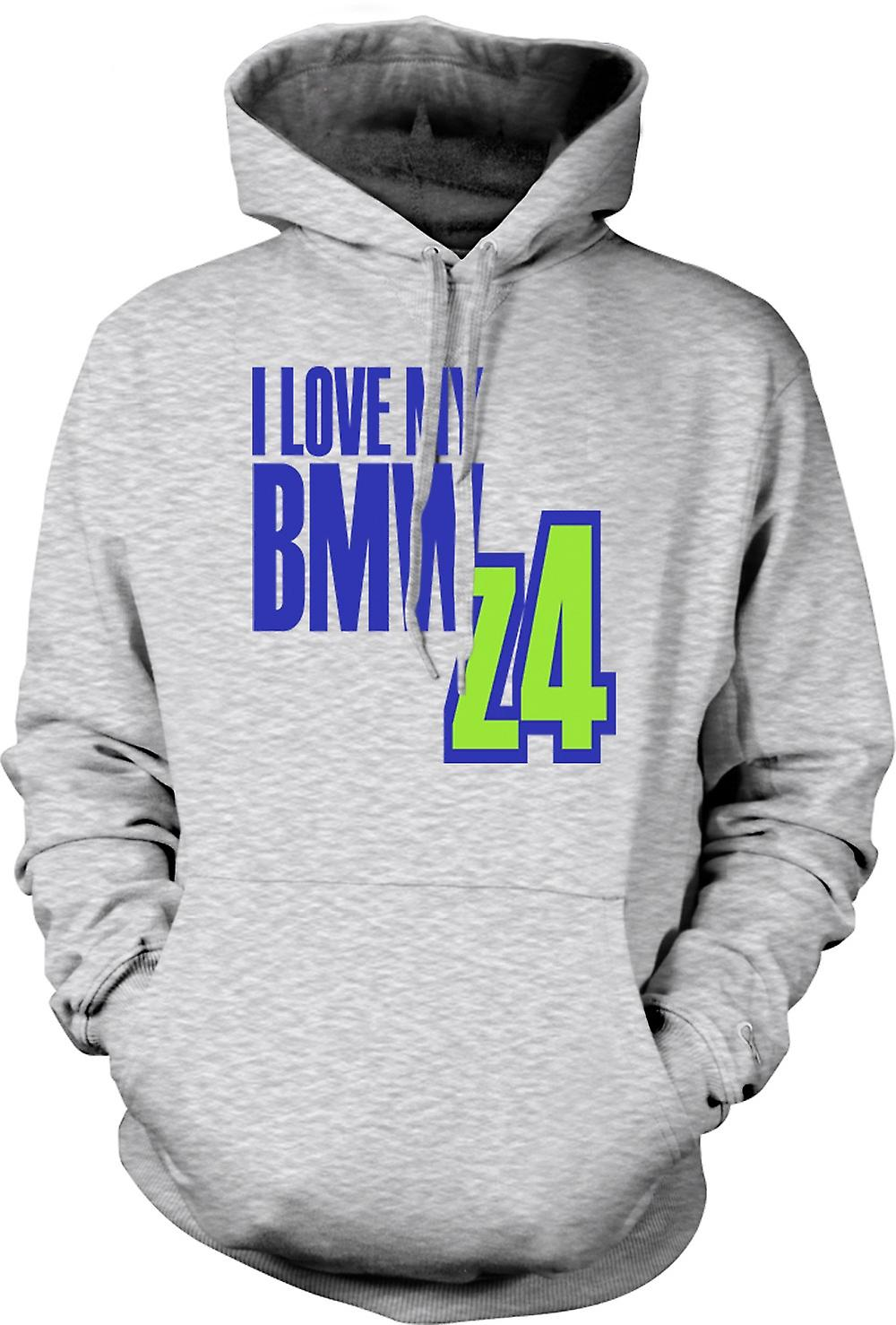 Mens Hoodie - I Love My BMW Z4 - Car Enthusiast