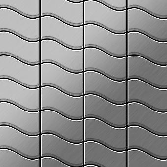 Mosaico de metal sólido Acero inoxidable ALLOY Flux-S-S-MB