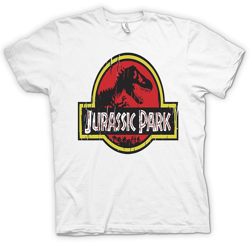 Hombres camiseta - Parque Jurásico - dinosaurios fresco