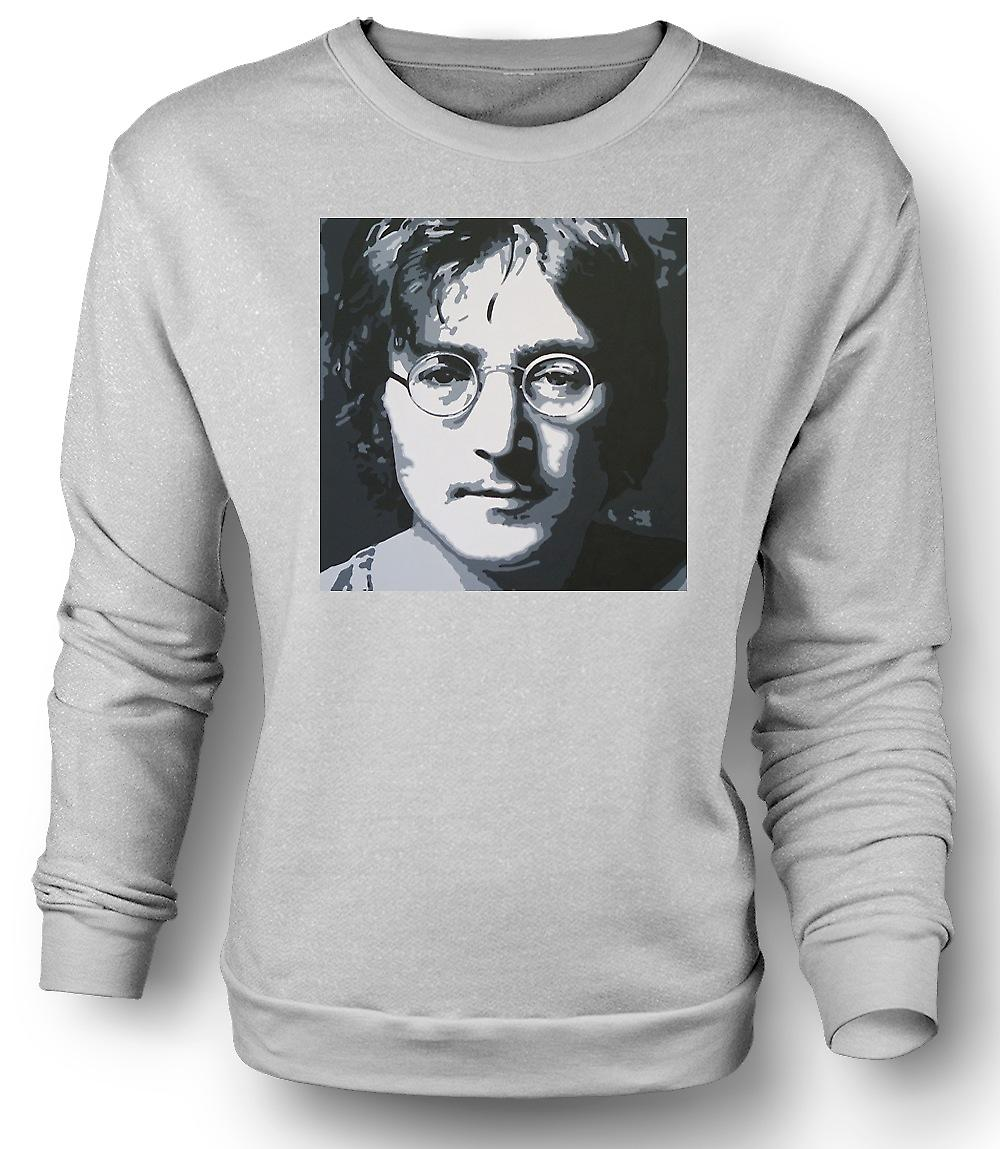 Mens Sweatshirt War Is Over If You Want It - Lennon
