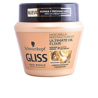 Schwarzkopf Gliss Ultimate Oil Elixir maskera 300 Ml för kvinnor
