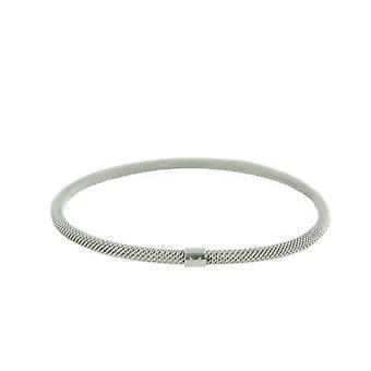 Skagen damer Bangle armbånd Milanaiseband sølv JGSS020SM