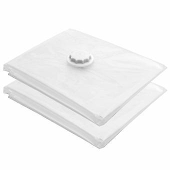 10 x stor 80 x 100cm vakuum förvaring platsbesparande Vac väska kläder sängkläder