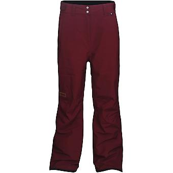 Planks Maroon Good Times - Insulated Womens Ski Pants