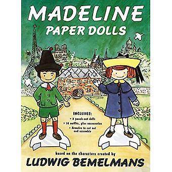 Madeline papier lalki