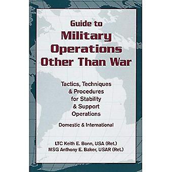 Leitfaden für die militärischen Operationen als der Krieg: Taktiken, Techniken und Verfahren für Stabilität und Operationen zur Unterstützung: nationale und internationale