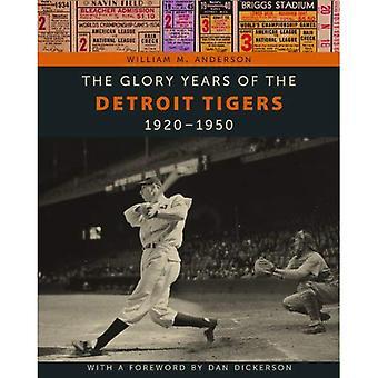 Glory åren av Detroit Tigers: 1920-1950