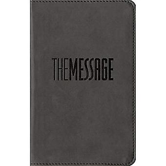 The Message Compact Graphite (The Message Bibles)