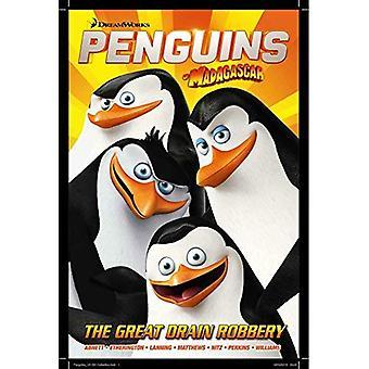Pinguïns van Madagscar 1: de grote afvoer overval