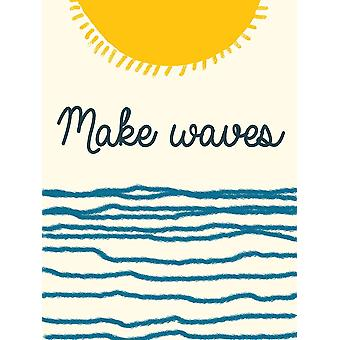 Waves Poster Print by Sheldon Lewis