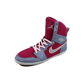 Nike Air Jordan 1 mager hoge Hyper Fuchsia/Metallic Platinum-Pebble Grey 602656-608-basisschool
