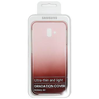 Oryginalna Samsung Galaxy J6 + stopniowanie czerwony Case | iParts4u