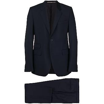 Givenchy Blue Wool Suit