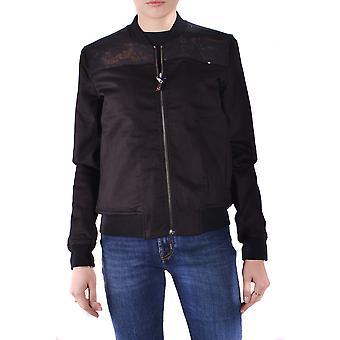 Jacob Cohen Black Cotton Outerwear Jacket