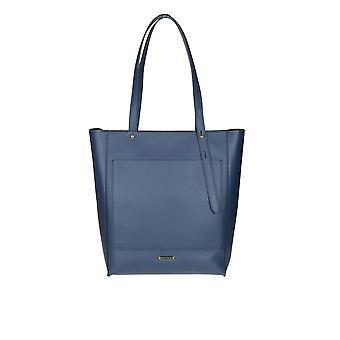 Rebecca Minkoff Blue Leather Tote