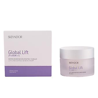 GLOBAL LIFT  lift contour face & neck cream dry skins
