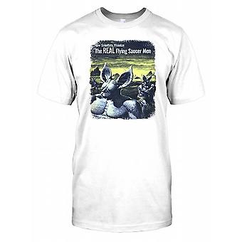 The Real Flying Saucer Kids - Cool Retro UFO Kids T Shirt