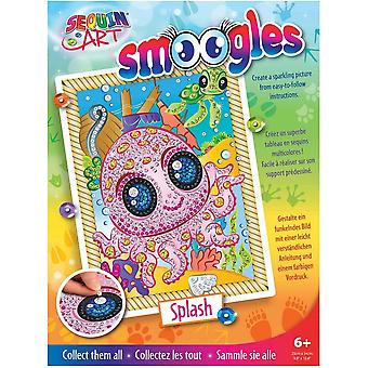Sequin Art Smoogles Splash